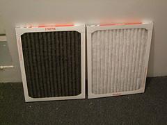 Air filter comparison
